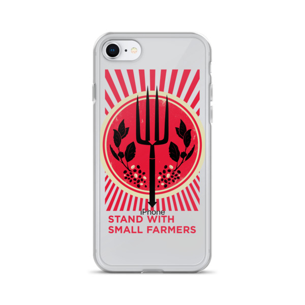 Stand With Small Farmers iPhone Case