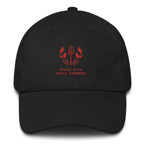 Stand With Small Farmers Cotton Cap