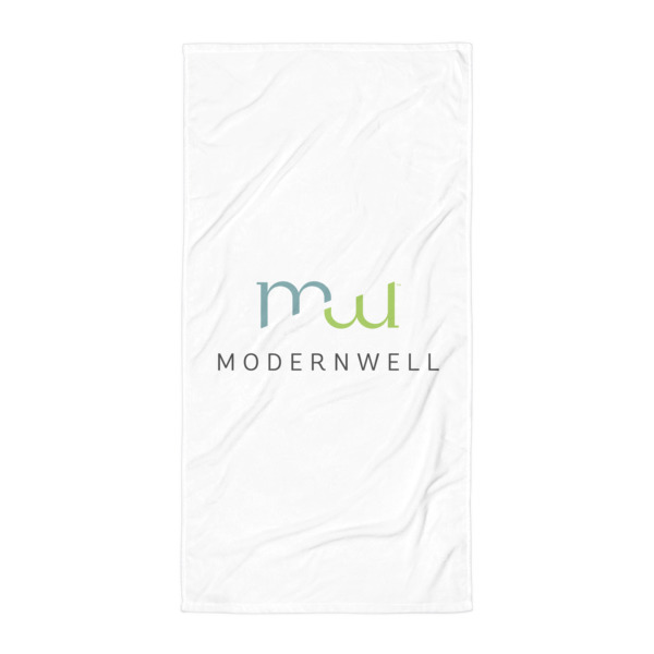 ModernWell Beach Towel