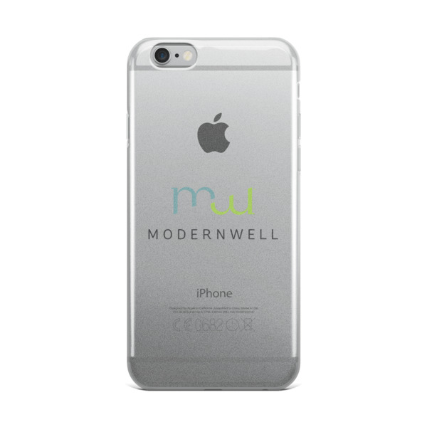 ModernWell iPhone Case