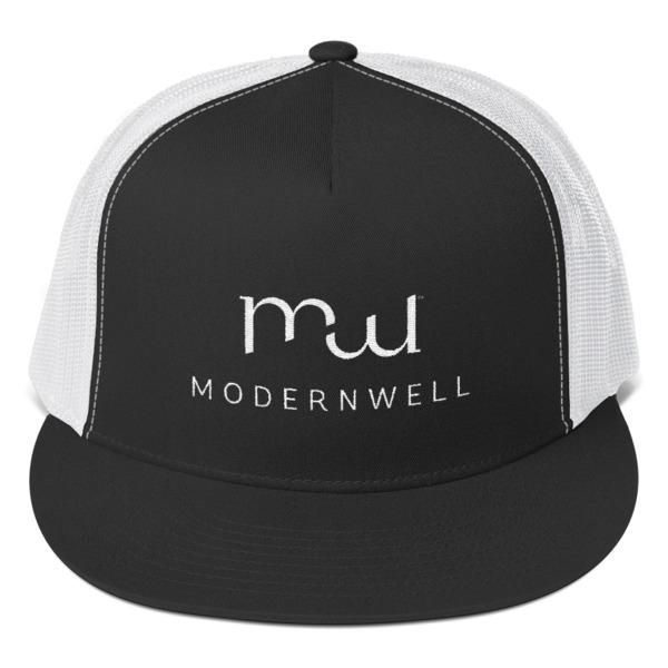 Modernwell Hat Black/White
